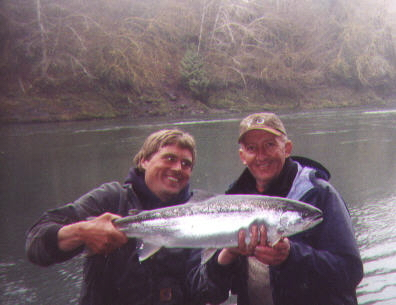Hoh river steelhead